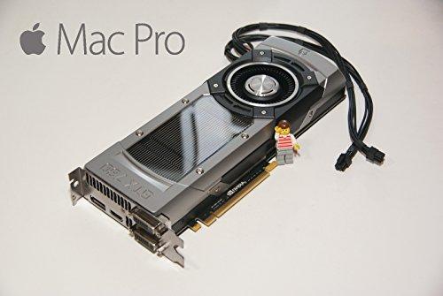 Apple Mac Pro Nvidia GTX780Grafikkarte (3GB GRAPHICS VIDEO Karte Dual DVI Cuda 4K -