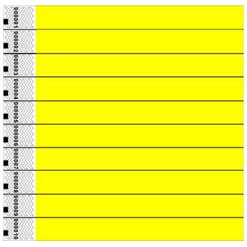 clubking-juego-de-pulseras-fibras-de-polietileno-tyvek-100-unidades-color-amarillo