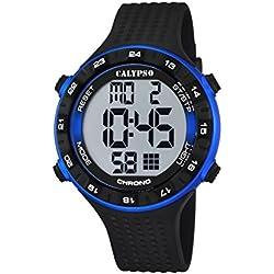 Calypso watches Herren-Armbanduhr XL K5663 Digital Quarz Plastik K5663/2