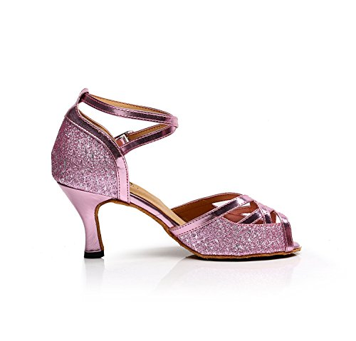 Minitoo , Salle de bal femme Pink-7.5cm Heel