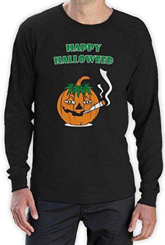 d Langarm Schwarz XX-Large T-Shirt (Stoner Halloween Kostüm)