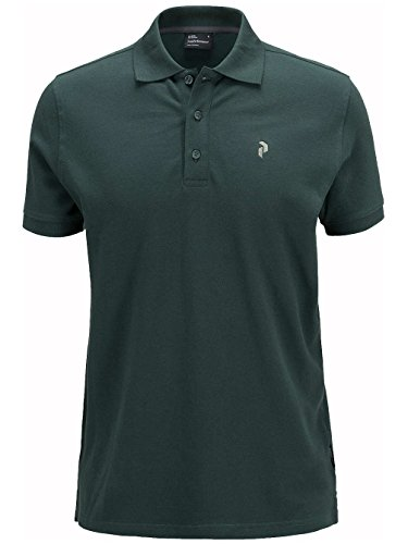 Herren T-Shirt Peak Performance Polo noble green