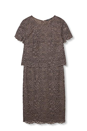 ESPRIT Collection Damen Kleid Braun Taupe 240 -dryas.eu f5e0552aa8