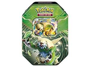 Pokebox blindepique - carte francaise a collectionner pokemon - boite metal verte