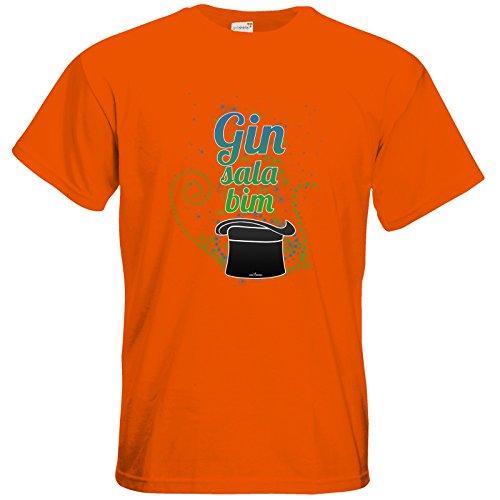 getshirts - SizzleBrothers Merchandise Shop - T-Shirt - SizzleBrothers - Grillen - Gin - ginsalabim Orange