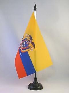 AZ FLAG TISCHFLAGGE Peru OHNE Wappen 21x14cm flaggen Peruanische TISCHFAHNE 14 x 21 cm