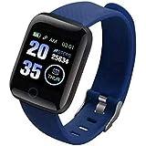 Smart Fitness Watch, Blood Pressure, Calls, Messages, Steps