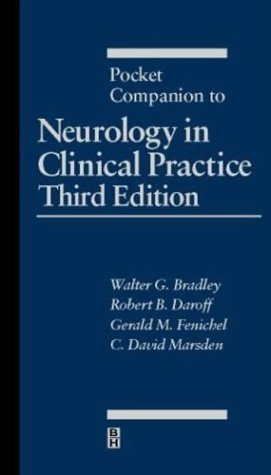 Pocket Companion to Neurology in Clinical Practice, 3e by Gerald M Fenichel MD (2000-04-18)
