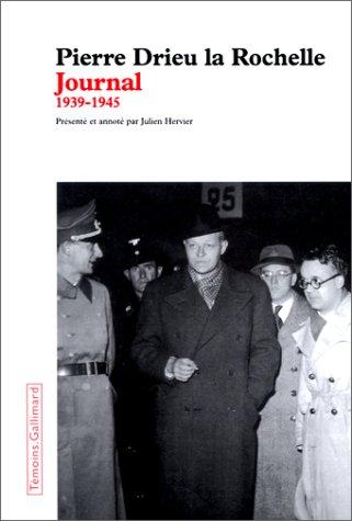 Journal: 1939-1945 (Témoins) par Pierre Drieu la Rochelle