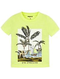 202edd7e9 Mayoral Camiseta Manga Corta Palmeras niño Modelo 3025