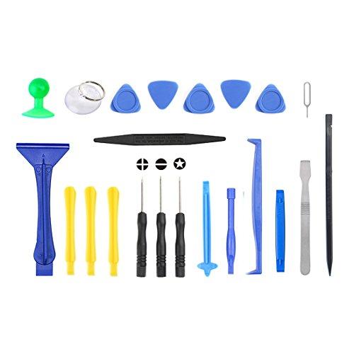 WEIHONG Exquisite Werkzeuge JF-8130 22 in 1 Crowbar Spudger Reparieren Zerlegen Sie das Open Tool Kit 8130 Lcd