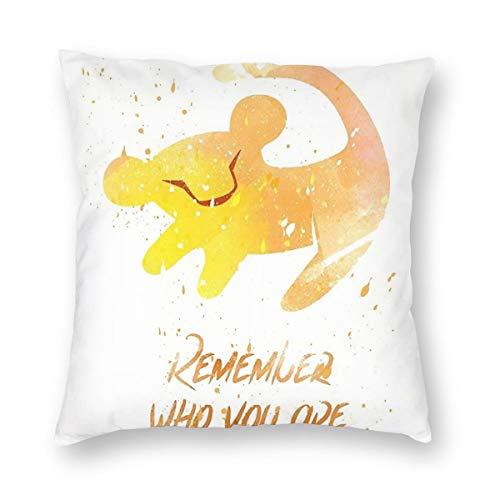 Gifetee The Lion King 2019 Simba Remember Who You Are Dekokissen Fall Platz Kissenbezug Kissenbezug Protektoren Für Sofa Bank Couch Autositz Bett 16