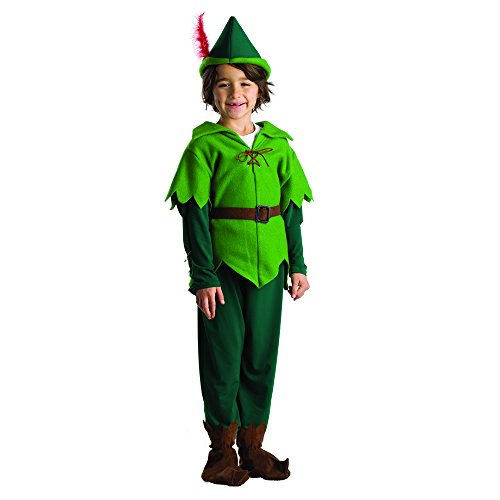 Pan Kostüm Shirt Peter - Dress Up America Peter Pan Kostüm für Kinder