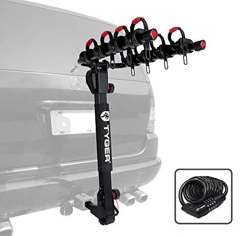 Tyger Deluxe Anhängerkupplung Mount Fahrradträger BIKE RACK. -