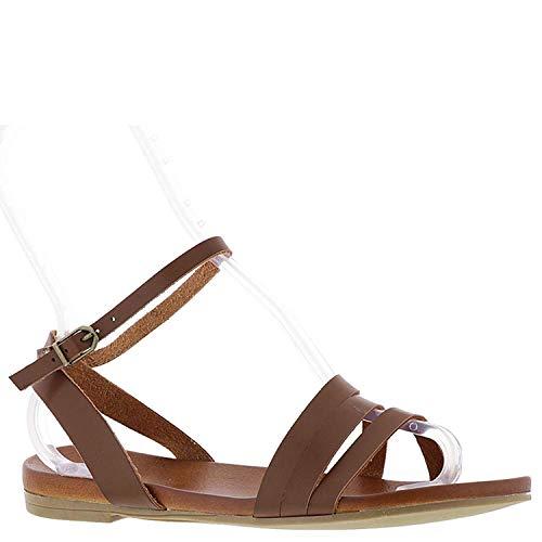 MIA Frauen Flache Sandalen Braun Groesse 6.5 US /37.5 EU Mia Suede Shoes