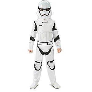 Star Wars - Disfraz de Storm Trooper para niños, talla L infantil 7-8 años (Rubie