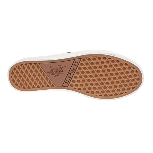 U.S. POLO Herrenschuhe ohne Schnürsenkel, Sneaker Style - mod. GALAN4183S7-CY1 Schwarz