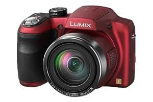 """Panasonic Lumix DMC-LZ30E-R Appareil photo numérique Taille d'écran 3""""  (7,5) Zoom optique 35x Rouge"""