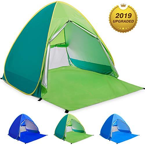 WloveTravel Tente de Plage Bebe Tentes Portable Extérieur pour 2-3 Personnes, Tente Anti...