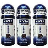 Best Nivea Skin Whitening Products - Nivea for Men Deodorant Antiperspirant Whitening 50ml x Review