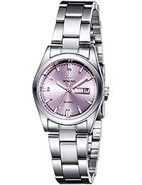 c614648eca1d Analógico - Relojes de pulsera   Mujer  Relojes - Amazon.es