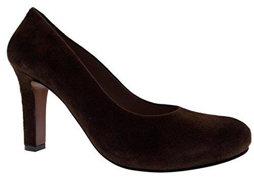 412d61513a Article D5058 Cour chaussure classique brun plateau en daim