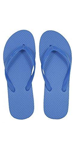 19bd4e26ed16d SLR Brands Women s Flip Flops Rubber Thong Flip Flop Sandal For Women Blue  Size  Large