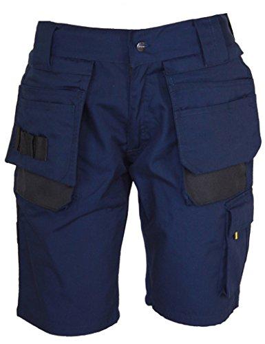 STØRVIK Herren Kurze Arbeitshose Job XL Navy blau - Arbeitsshorts Cargohose
