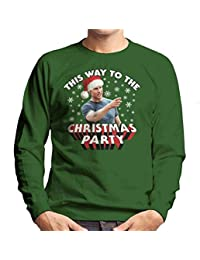 Tom Cruise This Way To The Christmas Party Mens Sweatshirt