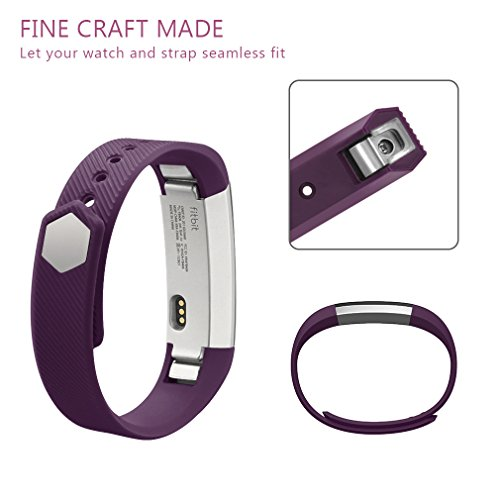 Vancle Fitbit Alta Bands Newest Adjustable Replacement Bands For Fitbit Alta Fitbit Alta Band Fitbit Alta Bands With Metal ClaspNo Tracker