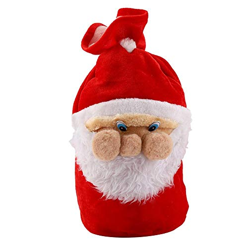 Bolsa dulces navidad Bolsas grandes cordón adorable