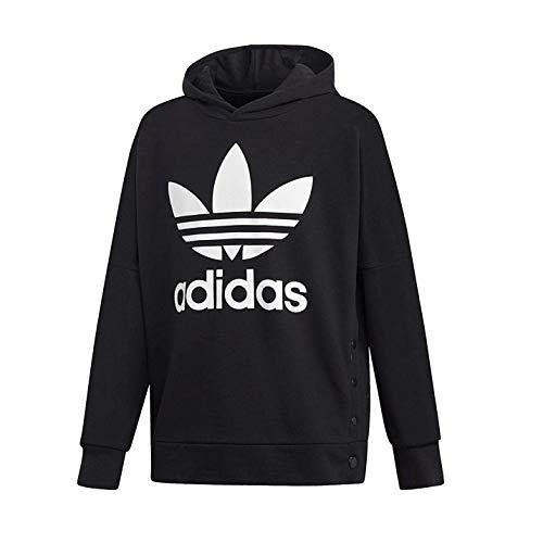 adidas Jungen J Adibreak Top Sweatshirt, Schwarz (Black/White), 164 (13/14 Jahre)