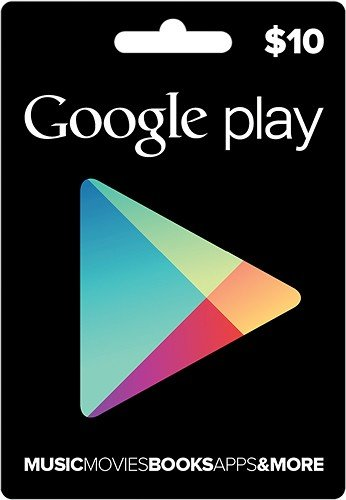 Google Play Store $10 Gift Card (US)