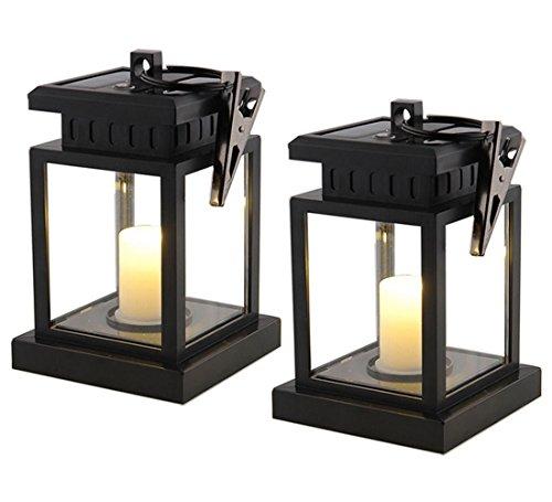 Lampe solaire suspendre for Lanterne pour bougie exterieur