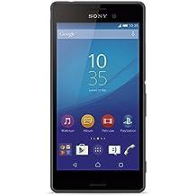 "Sony M4 Aqua - Smartphone de 5"" (Qualcomm MSM8939 Snapdragon 615, 8 GB ROM, 2 GB RAM, Android 5.0 Lollipop) color negro [modelo español]"