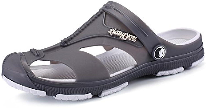 BAINASIQI Herren Sommer Sandalen Slippers Herren Clogs Schuhe Freizeit Sandalen Outdoor Strand Pantoffeln