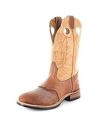 Boulet  3131, Bottes et bottines cowboy femme - Marron - Cognac Butterscotch, 41 EU / 9.5 US EU