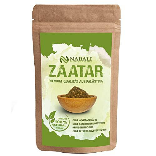 Zatar/Za'atar Qualitätsware aus Palästina 100 g | das Original nach Ottolenghi - 100% naturell | aromatisch | traditionell | frisch | orientalisch | ohne Konservierungsstoffe | Vegan