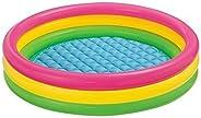 Intex Inflatable Water Pool 4 Ft (Diameter) Kids Bath Activity Water Pool For Fun Activities