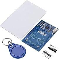 fgyhtyjuu MFRC-522 RFID Kit RF Sensor IC Card módulo S50 Tarjeta en Blanco del Llavero Compatible para Arduino Frambuesa Pi