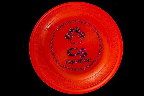 Hyperflite K-10 Competition Standard, Hundesfrisbee, neonorange, Turnierscheibe