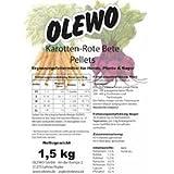 Olewo Kasrotten-Rote-Beete Pellets 1,5 kg