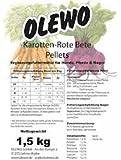 Olewo Kasrotten-Rote-Beete Pellets 12,5 kg