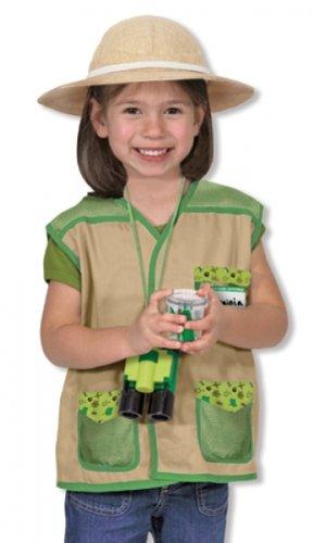 Kinderkostüm Entdecker Forscher Safari Kostüm Rollenspiel (Entdecker Kostüm Zubehör)