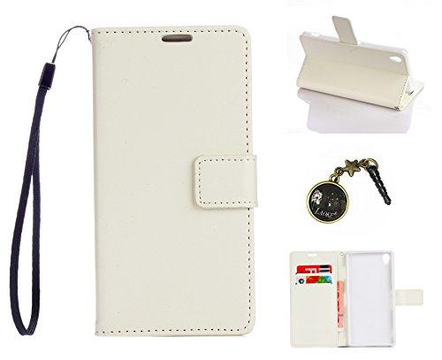 Preisvergleich Produktbild PU Silikon Schutz hülle Handyhülle Painted pc case cover hülle Handy-Fall-Haut Shell Abdeckungen für Sony Xperia Z3 (5,2 Zoll (13,2 cm) +Staubstecker (1DD)