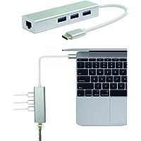 Broonel London - Adaptateur USB Type C Ethernet et USB 3.0 pour le Acer Spin 7 / Acer Swift 7