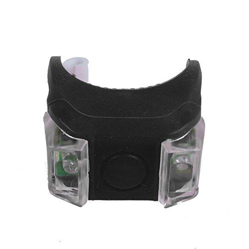 2019 Neue !!! LED Silikon Fahrradbeleuchtung Fahrradlicht, Nourich Sicherheitsbeleuchtung Fahrradleuchte, Fahrradlampe Fahrradlicht, Rücklicht, Aufladbare FahrradlichterTaschenlampe BU (F)
