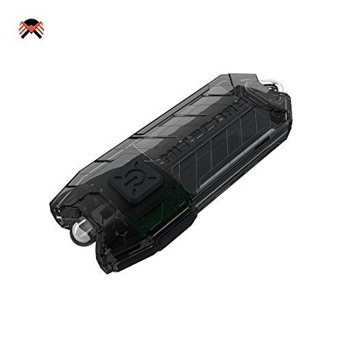Nitecore® TUBE 2017 USB Aufladbar LED Taschenlampe 45 Lumens EDC Schlüsselbund 10 Gramm Mini-Taschenlampe Integerierte Li-Ion Akku, Laufzeit bis zu 48 Stunden, Wasserdicht IP65 9 Farben erhältlich