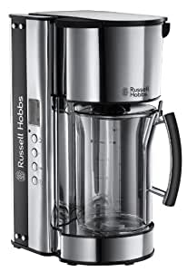 Russell Hobbs Glass Digitale 19650-56 Kaffeemaschine, silber