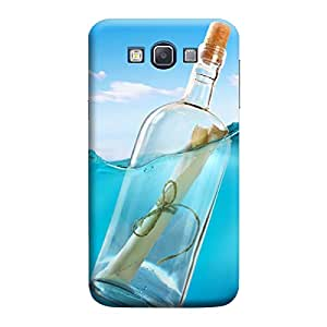 Desicase Samsung A7 Thirsty 3D Matte Finishing Printed Designer Hard Back Case Cover (Blue)